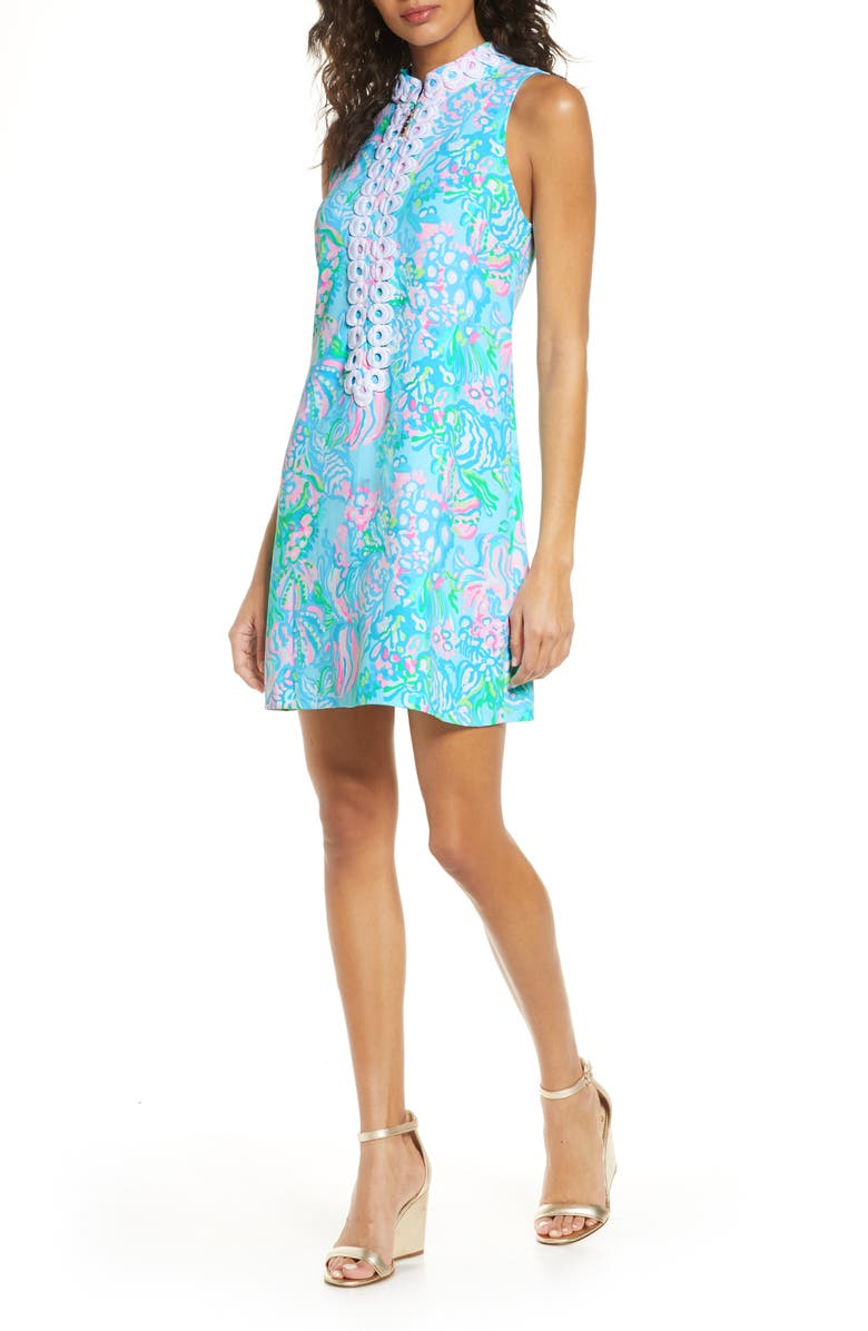 LILLY PULITZER<SUP>®</SUP> Jane Sleeveless Shift Dress, Main, color, 440
