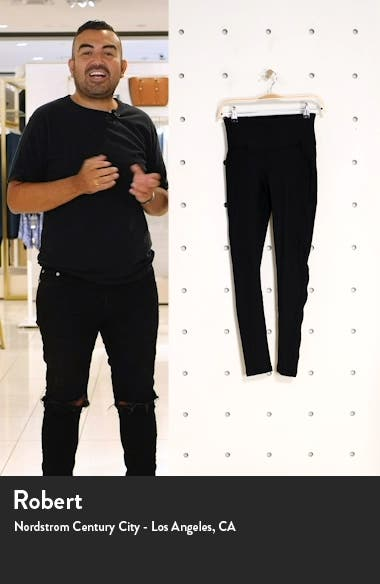 Live In High Waist Rib Ankle Leggings, sales video thumbnail