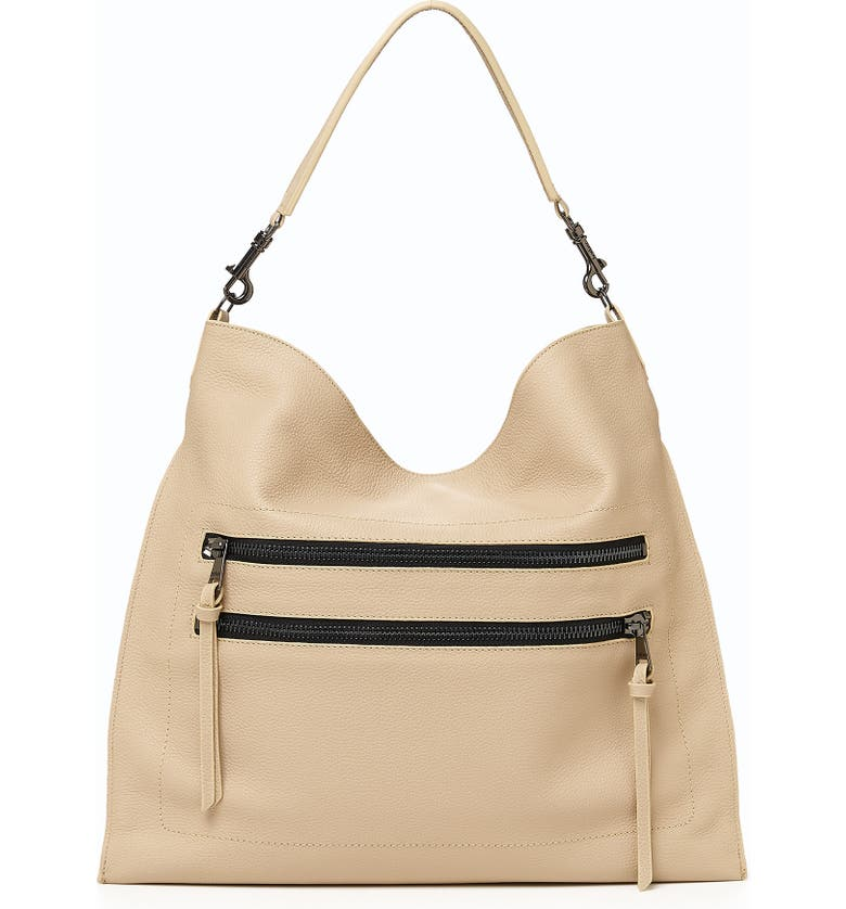 BOTKIER Large Chelsea Leather Hobo, Main, color, FAWN