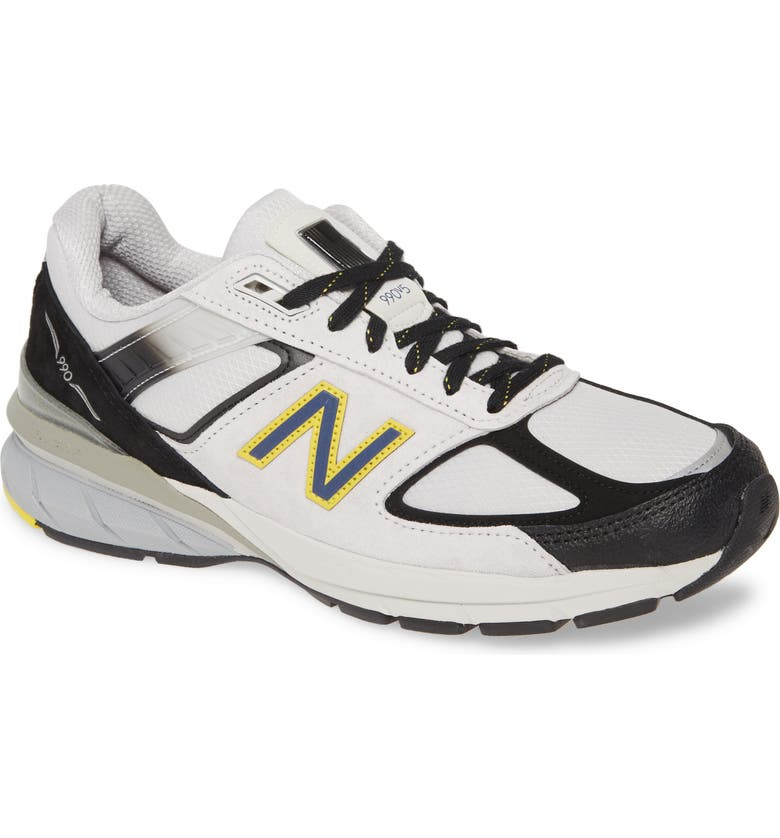 NEW BALANCE 990v5 Made in US Running Shoe, Main, color, 107