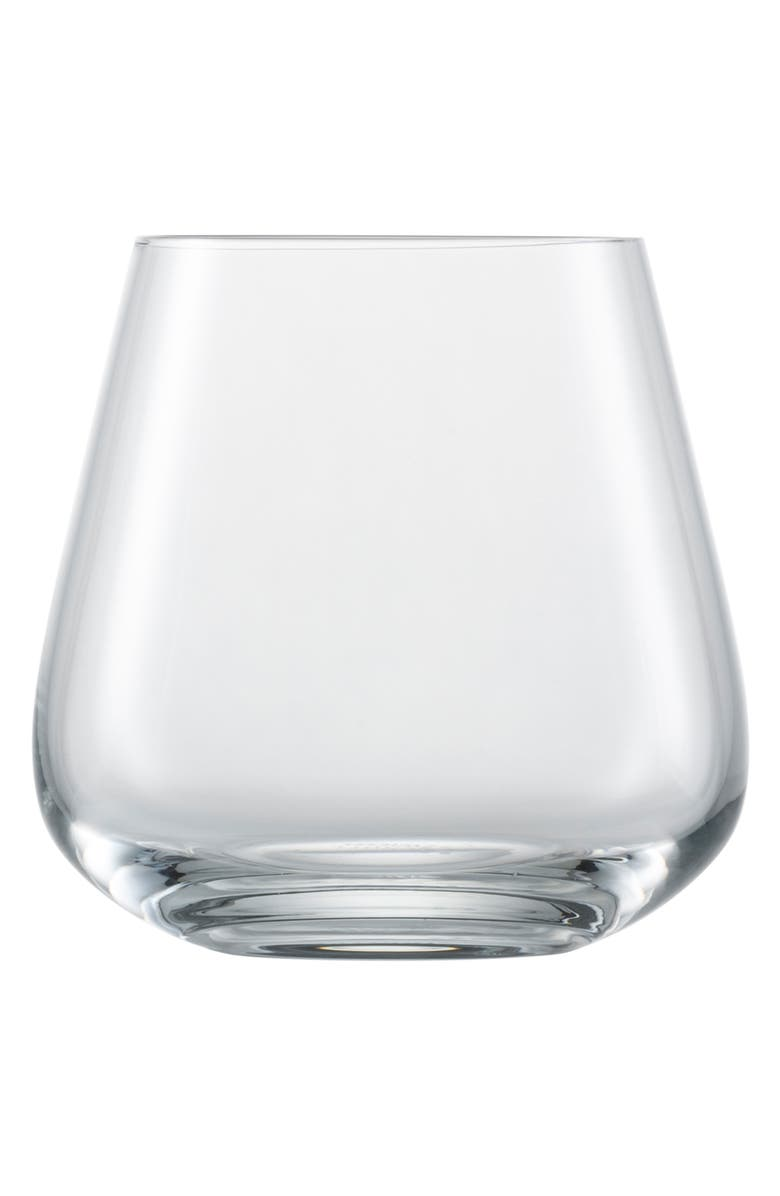 SCHOTT ZWIESEL Vervino Set of 6 Double Old Fashioned Glasses, Main, color, CLEAR