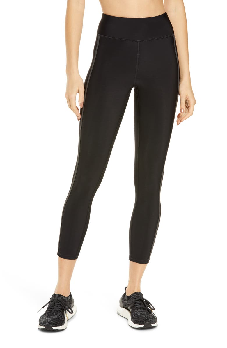 SWEATY BETTY Thermodynamic 7/8 Running Leggings, Main, color, BLACK REFLECTIVE