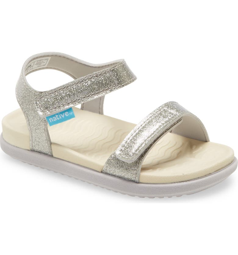 NATIVE SHOES Charley Glitter Water Friendly Sandal, Main, color, 040