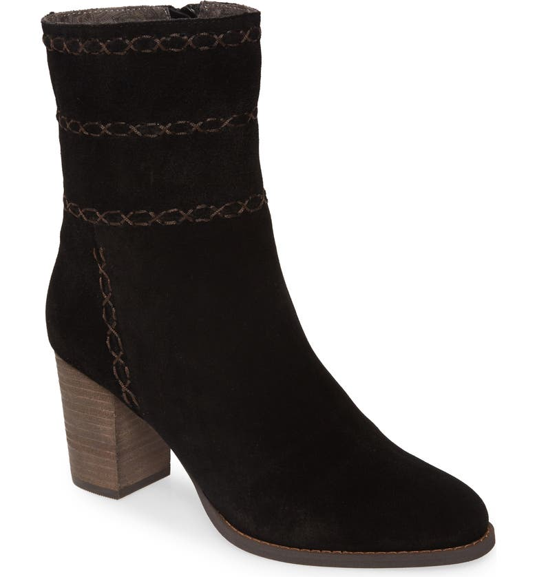 BAND OF GYPSIES Aurora Boot, Main, color, BLACK SUEDE