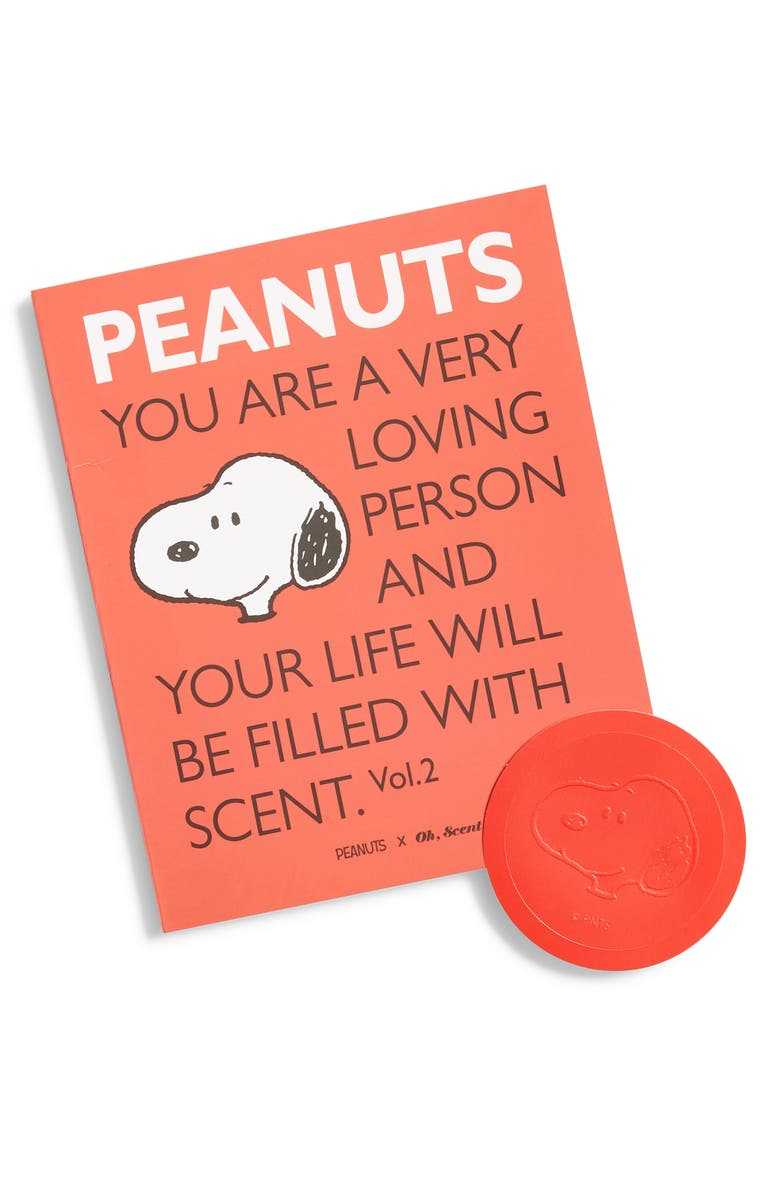 OH SCENT Oh, Scent! x Peanuts<sup>®</sup> Perfume Book, Main, color, 600