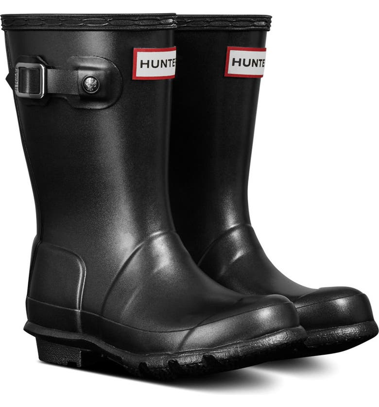 HUNTER Original Nebula Waterproof Rain Boot, Main, color, 001