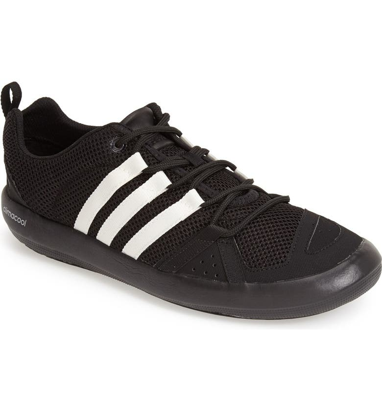 ADIDAS 'CLIMACOOL<sup>®</sup> Boat Lace' Water Shoe, Main, color, 001
