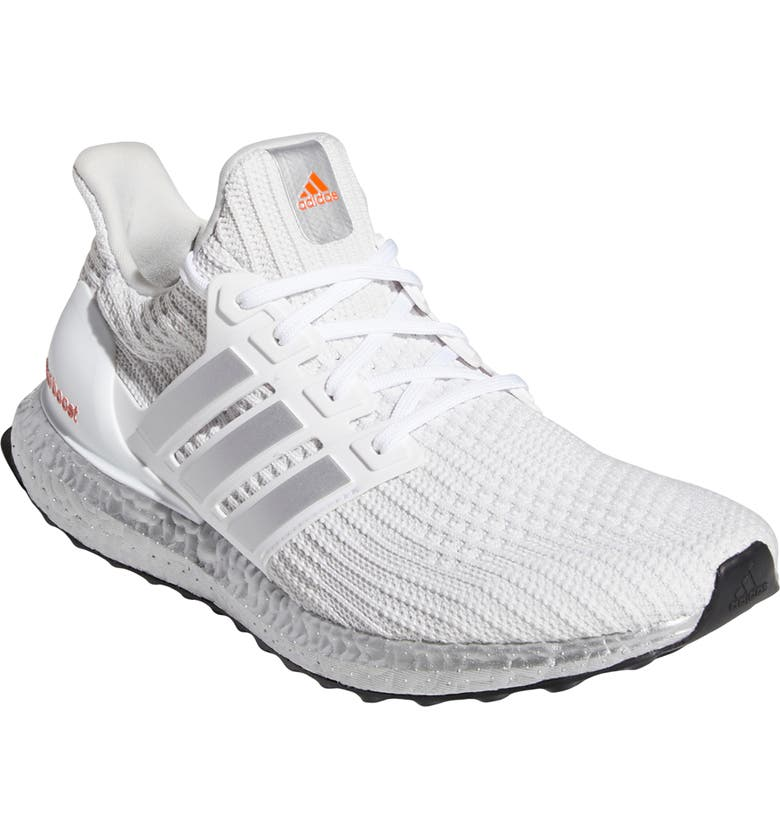 ADIDAS UltraBoost DNA Primeblue Running Shoe, Main, color, WHITE/ SILVER/ RED