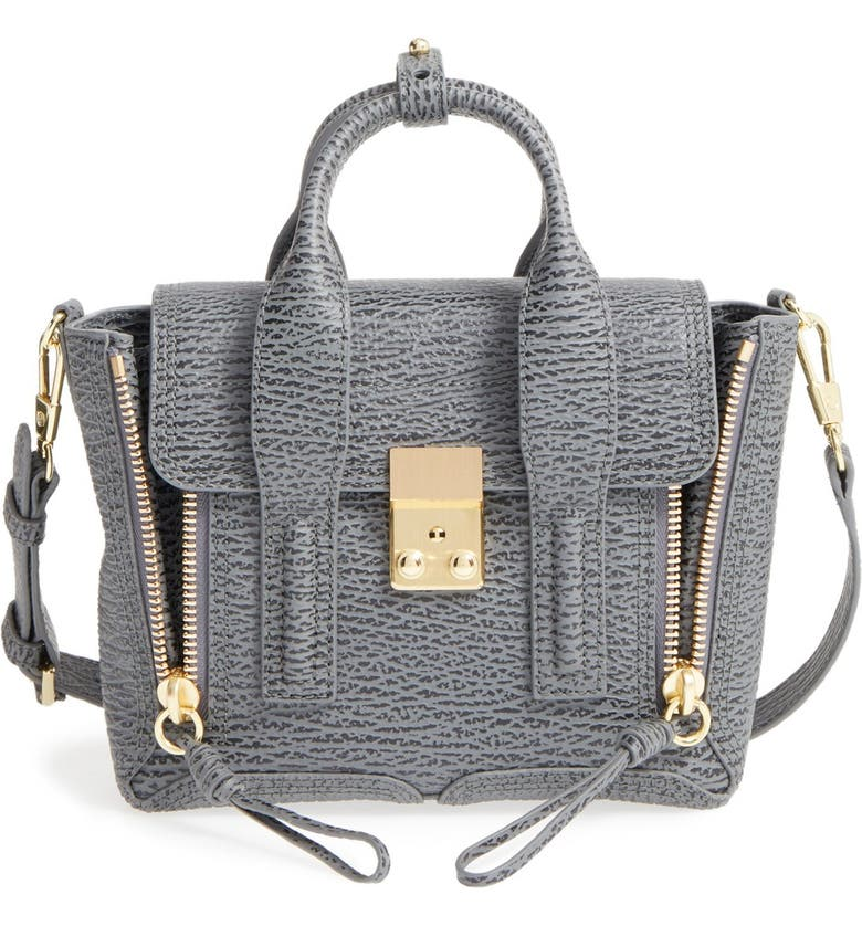 3.1 PHILLIP LIM 'Mini Pashli' Leather Satchel, Main, color, 020