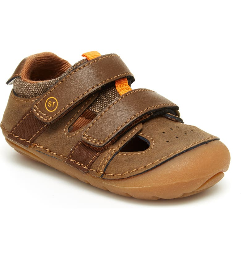 STRIDE RITE Soft Motion<sup>™</sup> Elijah Sandal, Main, color, BROWN