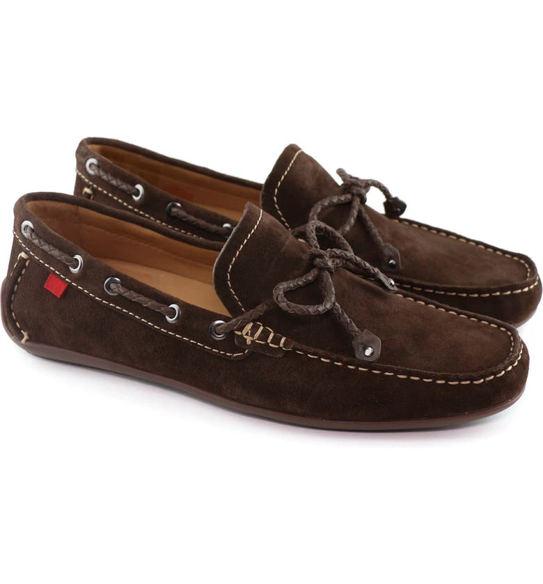MARC JOSEPH NEW YORK 'Cypress Hill' Driving Shoe, Main, color, BROWN SUEDE