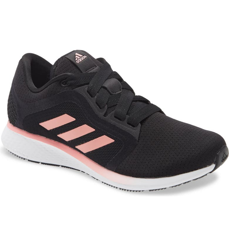ADIDAS Edge Lux 4 Running Shoe, Main, color, CORE BLACK/ GLORY PINK