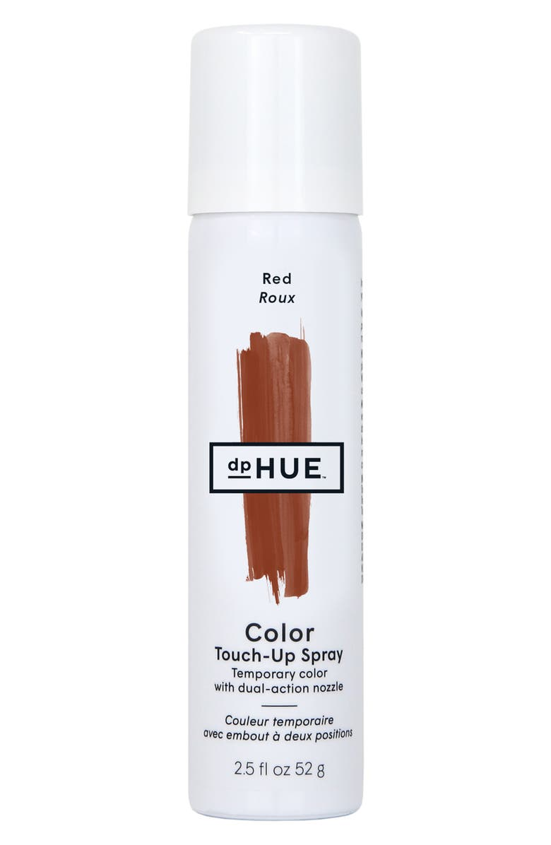 DPHUE Color Touch-Up Temporary Color Spray, Main, color, RED