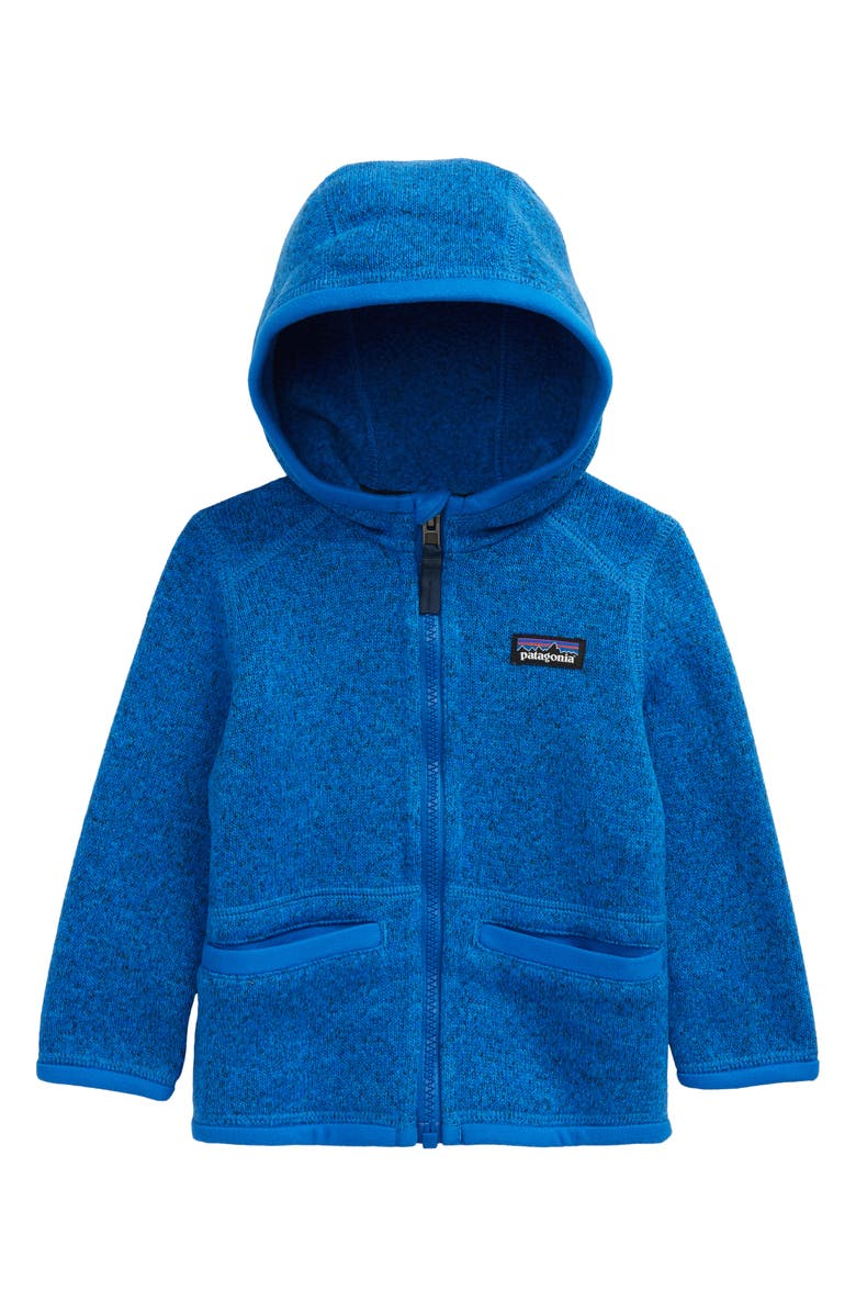 PATAGONIA Better Sweater<sup>®</sup> Hooded Jacket, Main, color, BAYOU BLUE