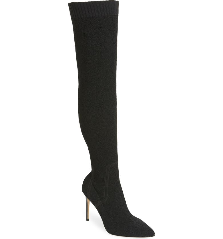 PAIGE Jessamine Over the Knee Boot, Main, color, 001