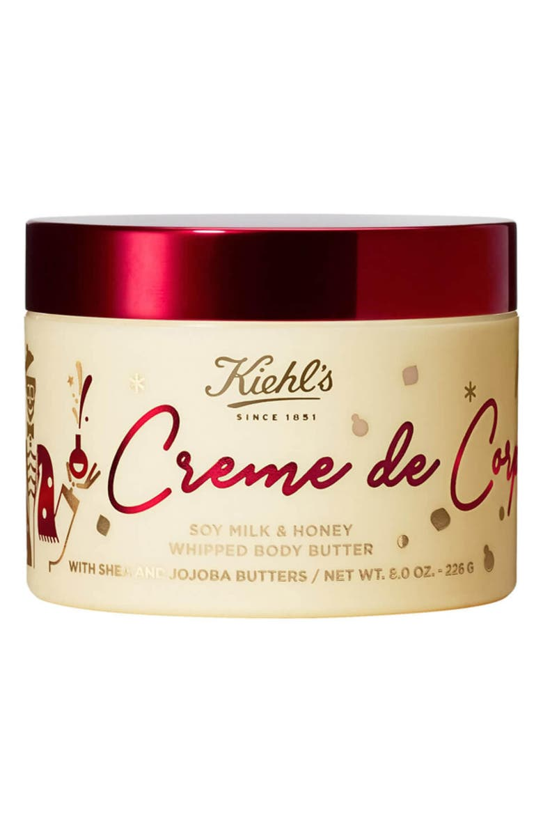KIEHL'S SINCE 1851 Creme de Corps Soy Milk & Honey Whipped Body Butter, Main, color, 000