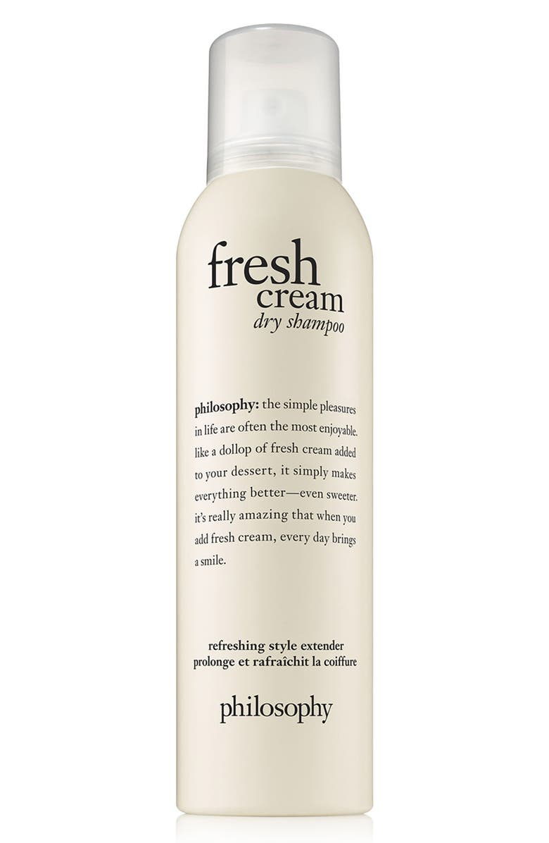 PHILOSOPHY fresh cream dry shampoo, Main, color, 000