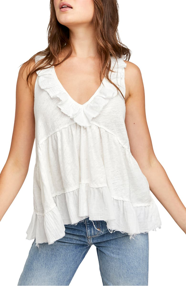FREE PEOPLE Out & About Tank, Main, color, IVORY