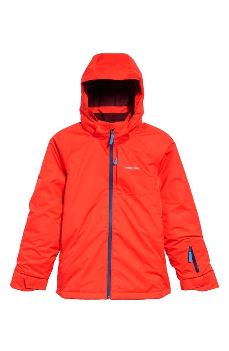 PATAGONIA Snowbelle Waterproof Insulated Jacket, Main, color, CATALAN CORAL