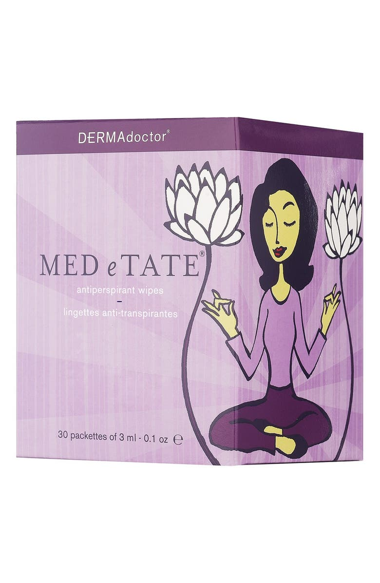 DERMADOCTOR<SUP>®</SUP> MED e TATE<sup>®</sup> Antiperspirant Wipes, Main, color, No Color
