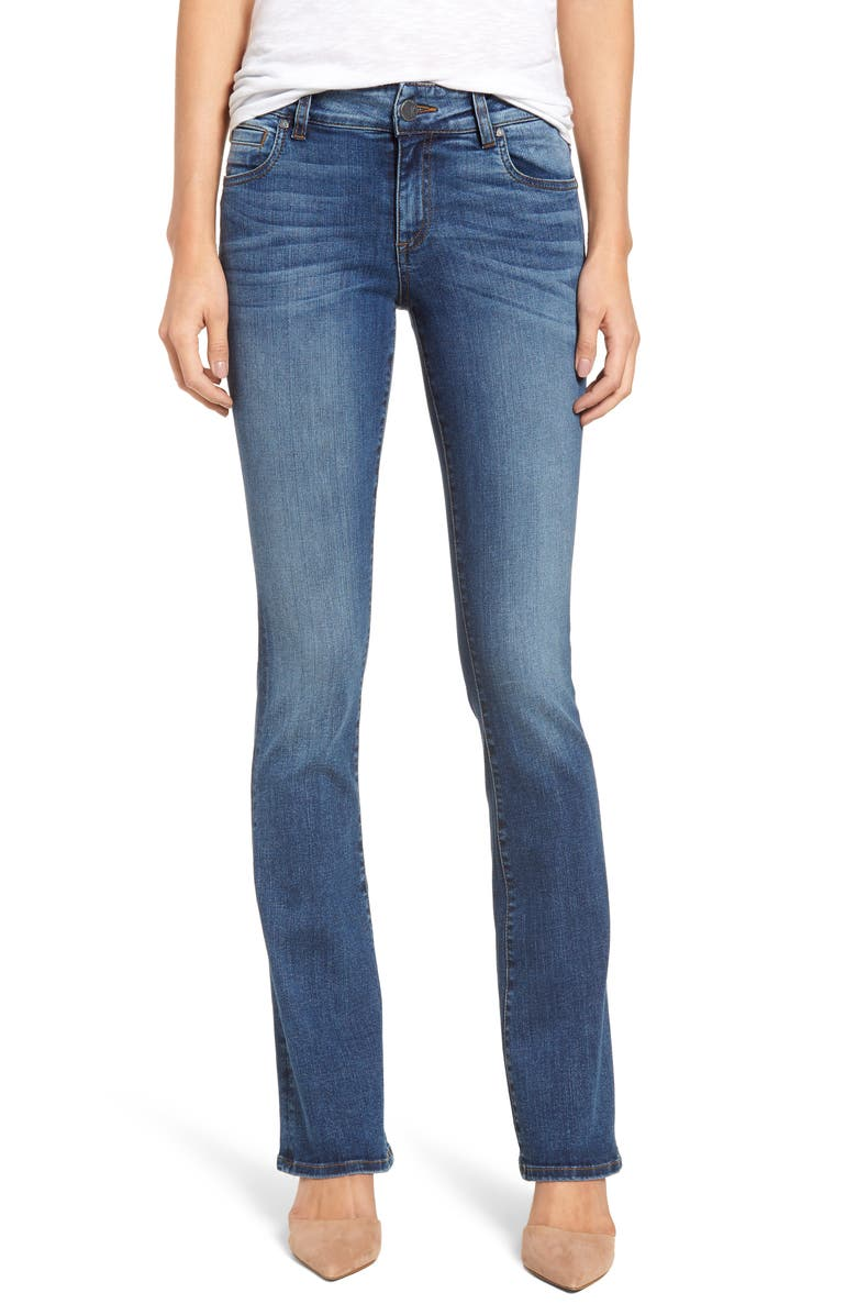 KUT FROM THE KLOTH Natalie Bootcut Jeans, Main, color, FORGIVINGNESS