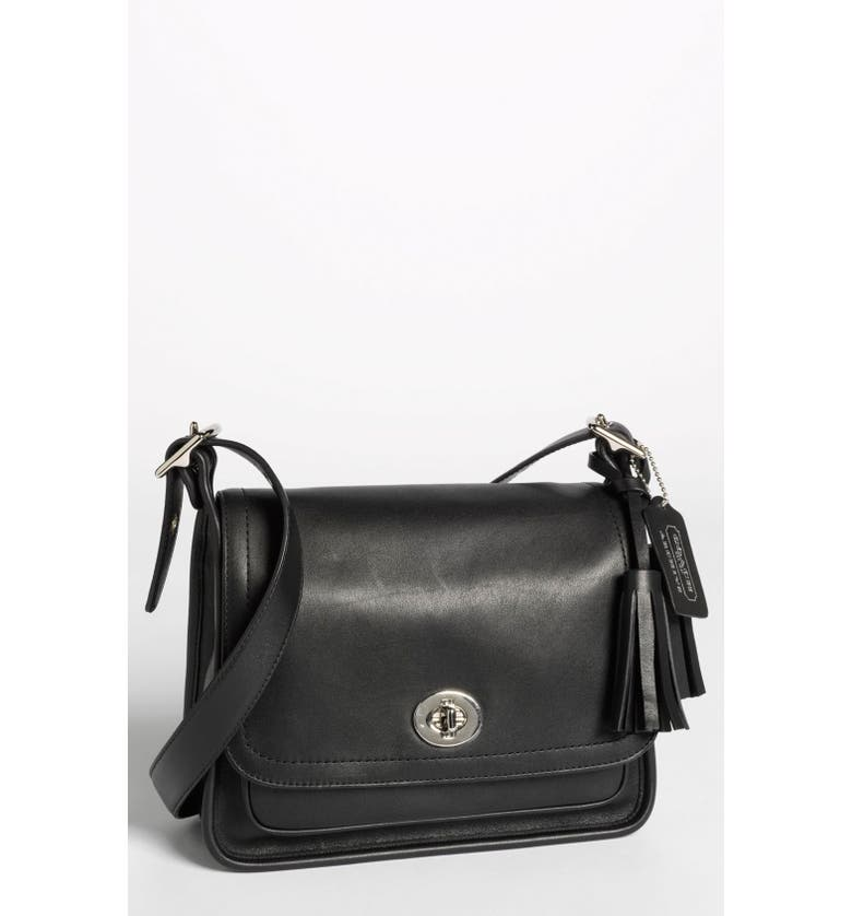 COACH 'Legacy Archival Rambler' Leather Crossbody Bag, Small, Main, color, 001