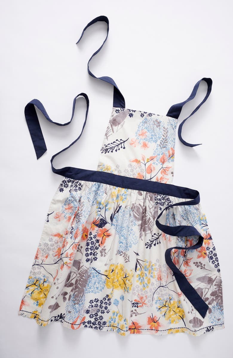 ANTHROPOLOGIE HOME Rosie Floral Apron, Main, color, MULTI