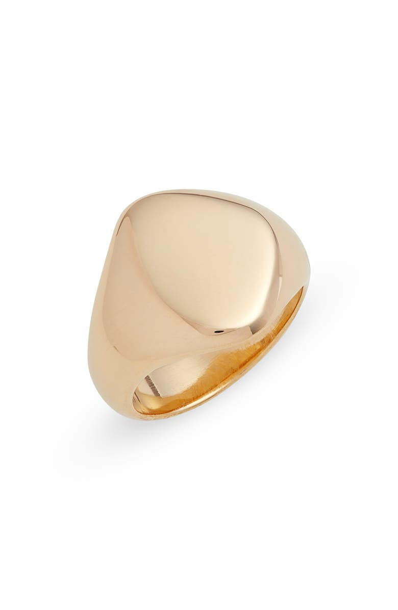SOKO Sabi Signet Ring, Main, color, Gold
