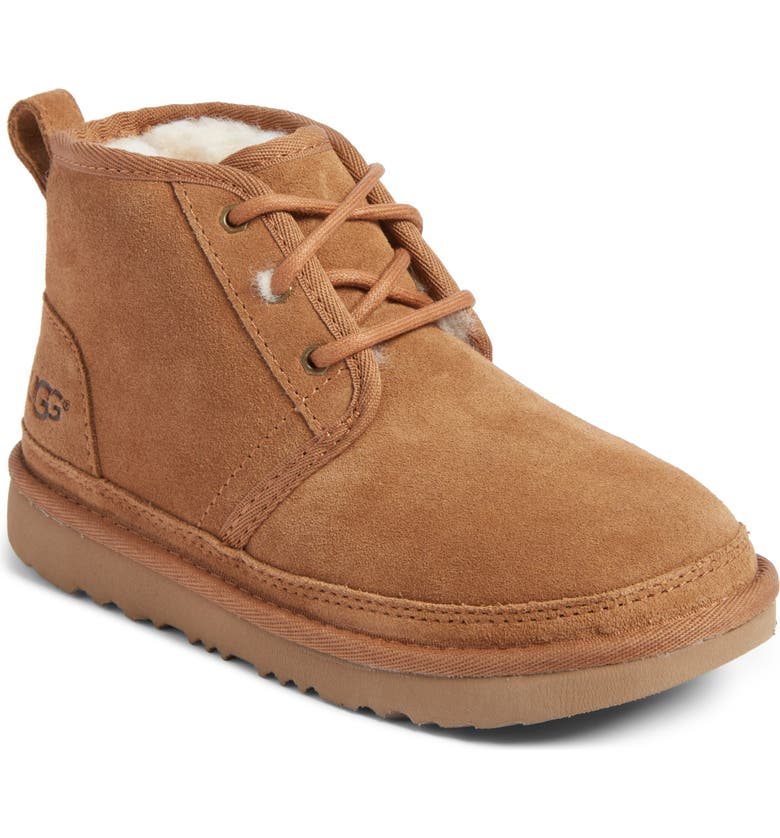 UGG<SUP>®</SUP> Neumel II Water Resistant Chukka Boot, Main, color, CHESTNUT BROWN
