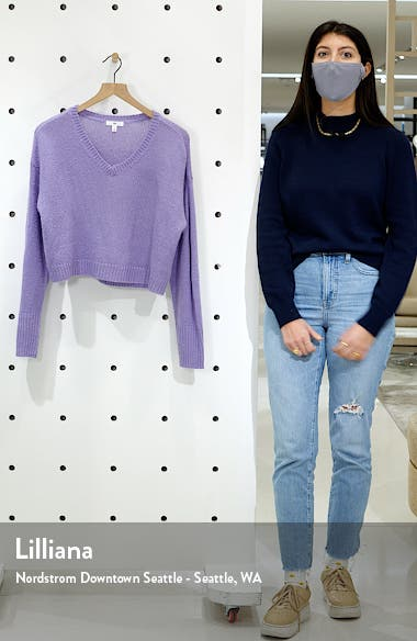 V-Neck Crop Sweater, sales video thumbnail