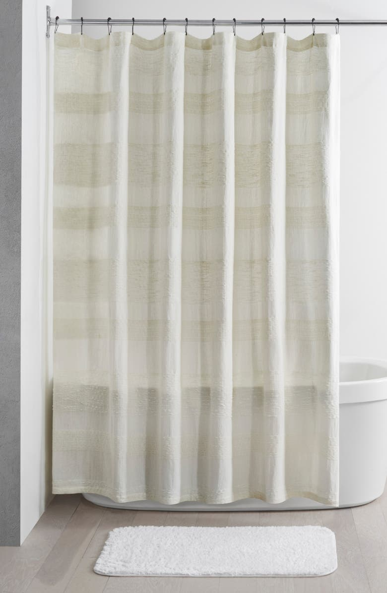 UGG<SUP>®</SUP> Russel Shower Curtain, Main, color, NATURAL