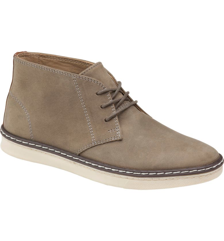 JOHNSTON & MURPHY Kids' McGuffey Chukka Boot, Main, color, GRAY OILED NUBUCK