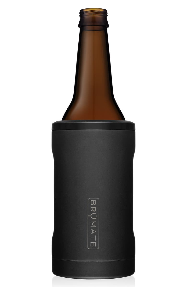 BRÜMATE Hopsulator BOTT'L Bottle Cooler, Main, color, MATTE BLACK