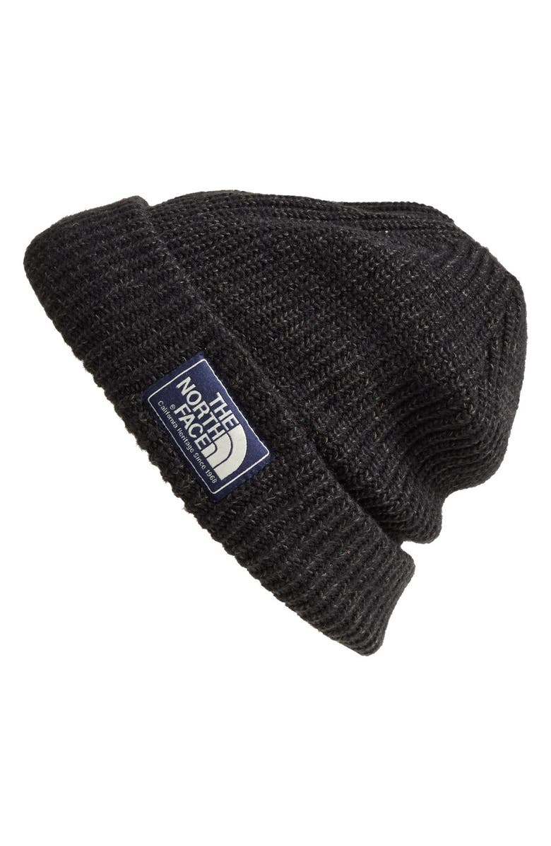 THE NORTH FACE 'Salty Dog' Beanie, Main, color, 001