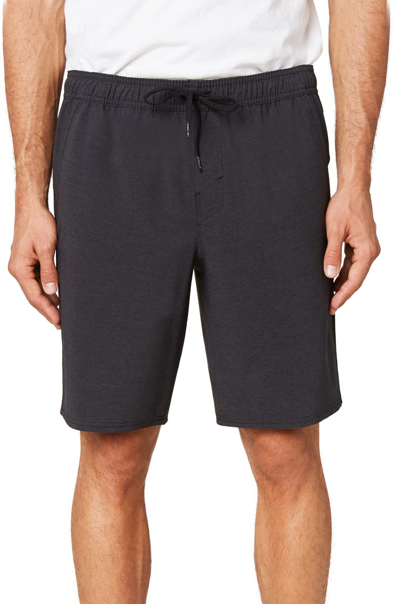O'NEILL Interval Hybrid Shorts, Main, color, BLACK