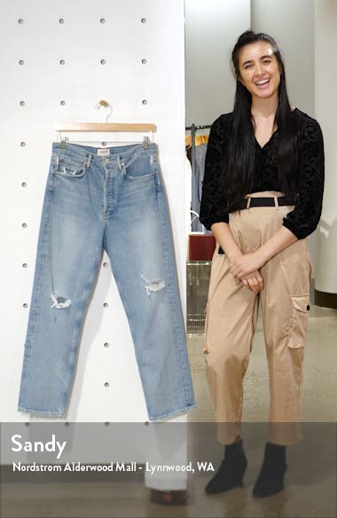 '90s High Waist Loose Fit Jeans, sales video thumbnail