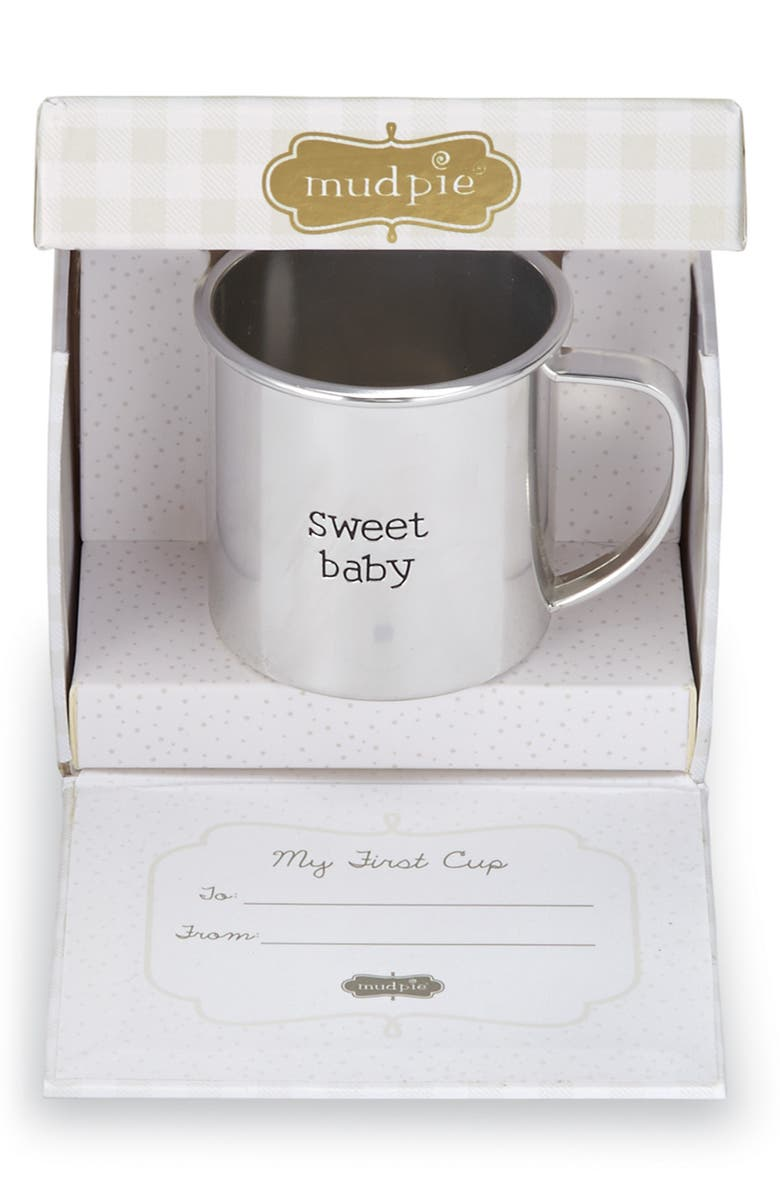 MUD PIE My First Cup Sweet Baby Cup, Main, color, 040