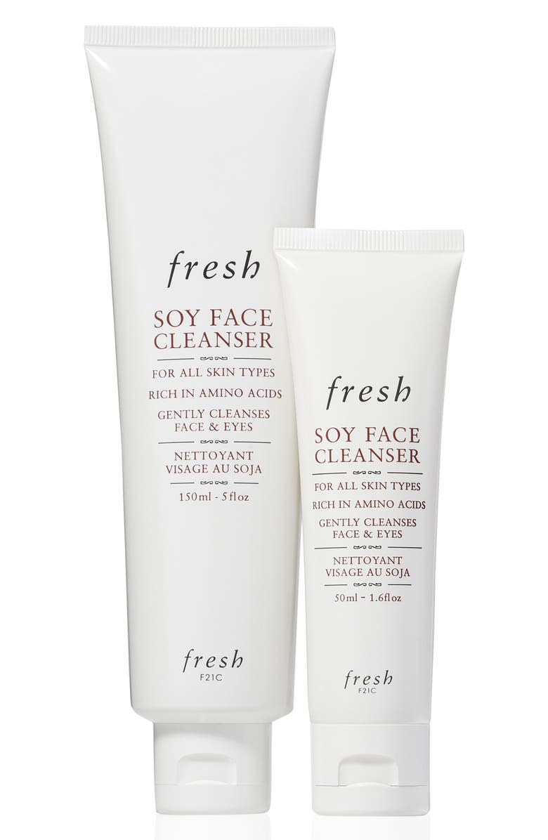FRESH<SUP>®</SUP> Soy Much Love Soy Face Cleanser Set, Main, color, 000