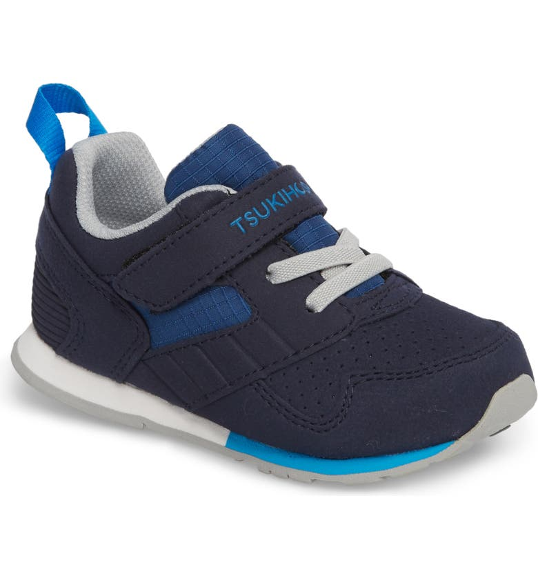 TSUKIHOSHI Racer Washable Sneaker, Main, color, NAVY/ BLUE