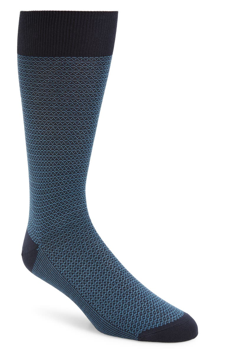 NORDSTROM SIGNATURE Jacquard Socks, Main, color, 401