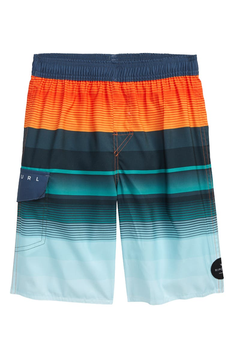 RIP CURL Kids' Setters Volley Shorts, Main, color, 800