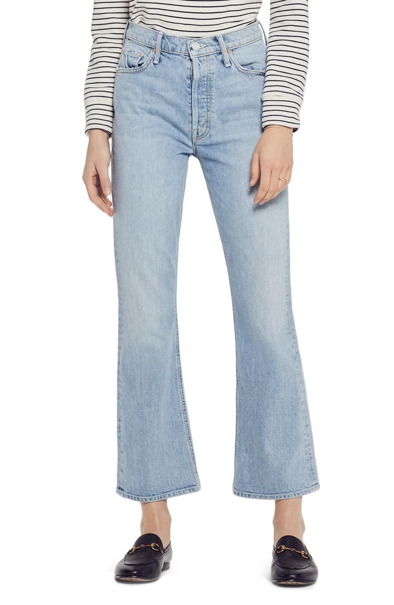 MOTHER The Tripper Crop Bootcut Jeans, Main, color, 400