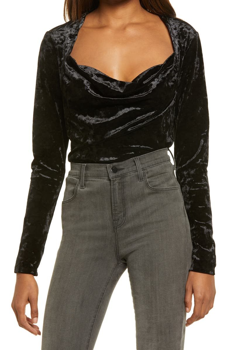 FREE PEOPLE Perfect Date Top, Main, color, BLACK
