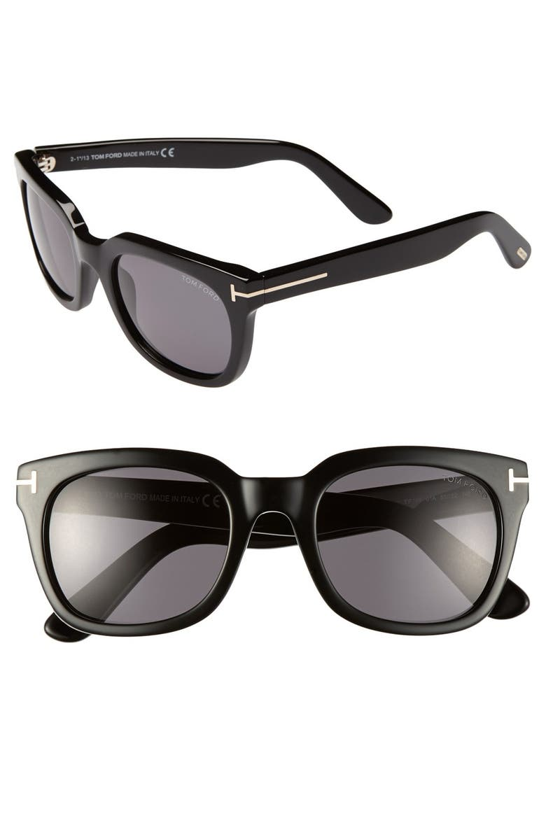 TOM FORD 'Campbell' 53mm Sunglasses, Main, color, 017