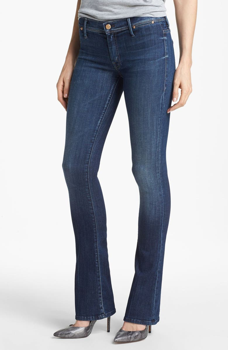 MOTHER 'The Daydreamer' Skinny Flare Leg Jeans, Main, color, TEMPTED AGAIN
