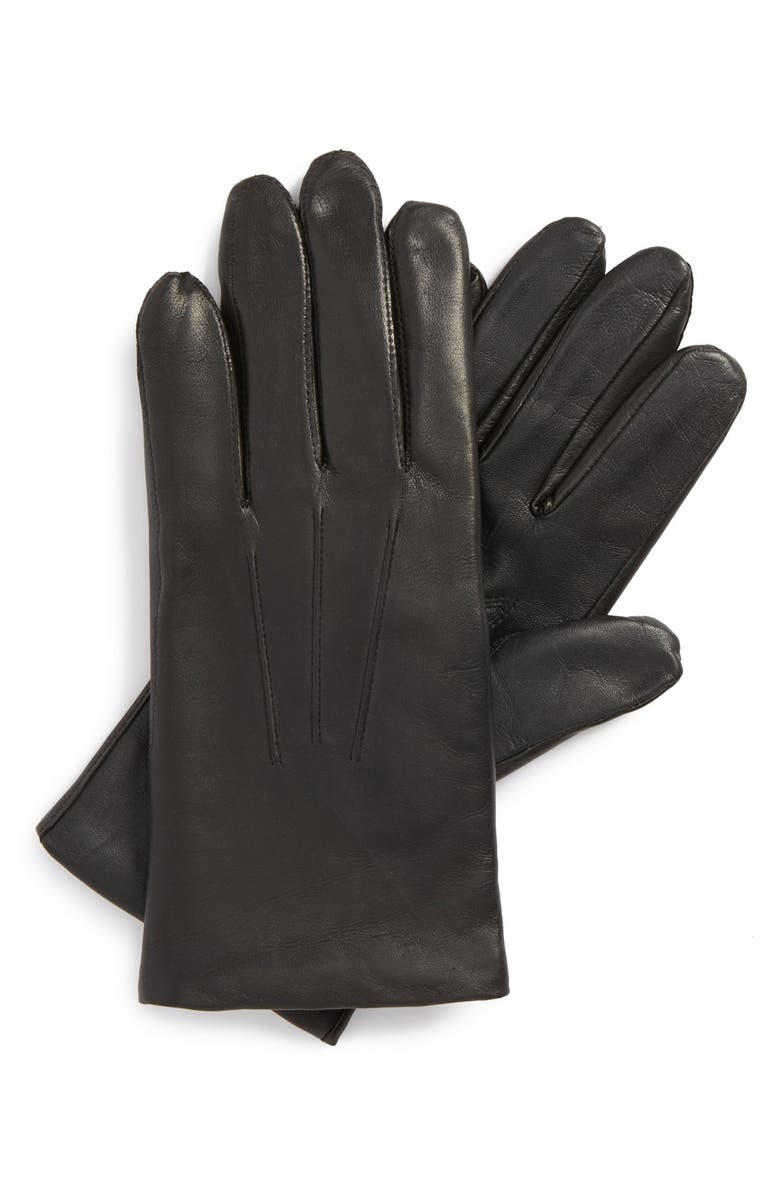 JOHN W. NORDSTROM<SUP>®</SUP> Leather Tech Gloves, Main, color, 001