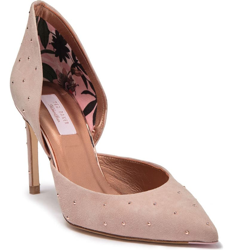 TED BAKER LONDON Zaffi d'Orsay Pump, Main, color, NUDE