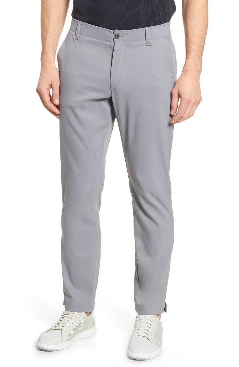 UNDER ARMOUR Showdown Pants, Main, color, ZINC GREY/ ZINC GREY/GREY