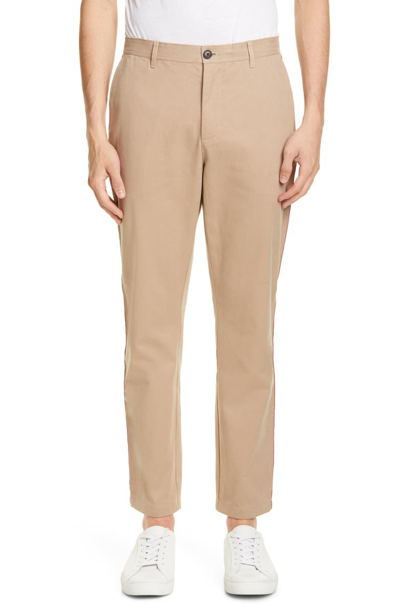 OVADIA & Sons Racing Stripe Chinos, Main, color, 273