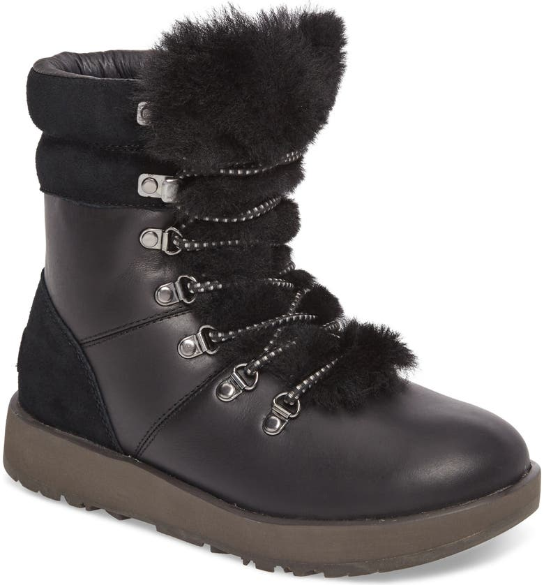 UGG<SUP>®</SUP> Viki Waterproof Boot, Main, color, 001